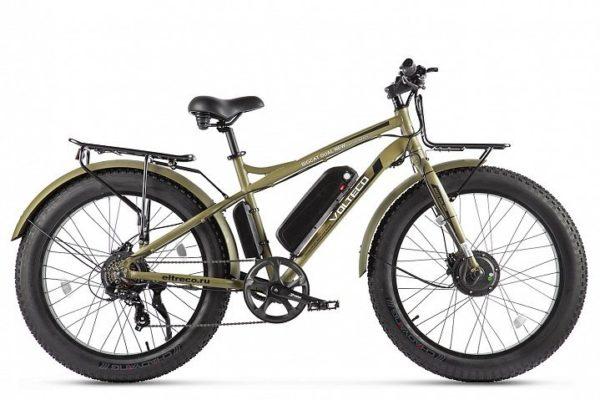 Электровелосипед VOLTECO BIGCAT DUAL NEW 2021