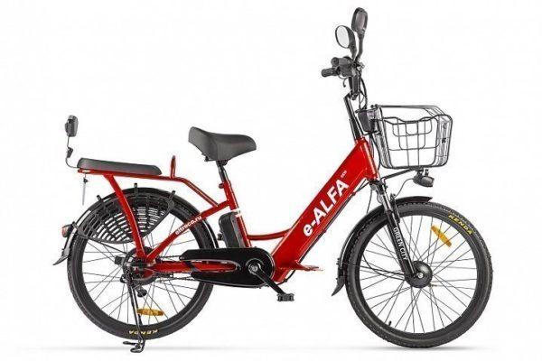 Велогибрид GREEN CITY e ALFA new